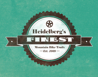 Heidelberg's Finest Mountainbike Trails