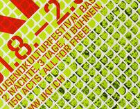 Corporate Identity JKF Jugendkulturfestival Basel