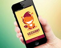 Heehaw - App Design