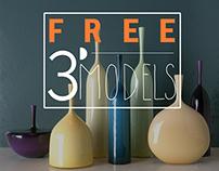 FREE 3d vases