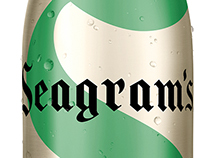 Seagram's Aluminum Bottle