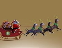 Kero Characters- Santa Sleigh