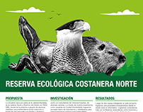 Infografía • Reserva Ecológica Costanera Norte •