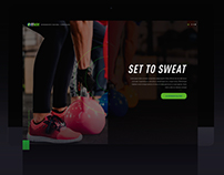 FITWORK - Landing Page