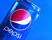 3D Advertising - Pepsi Can