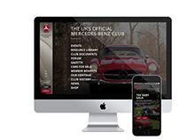 Mercedes-Benz Club - Responsive Website