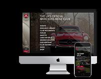 Mercedes-Benz Club - Responsive Website
