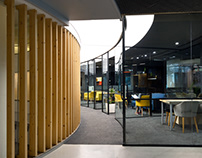 | Soft Bank Office by AVA Architects
