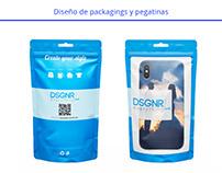 Packagings y stickers