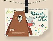 Medved z miško na rami