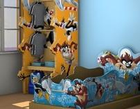 Child Room Decoration - Warner