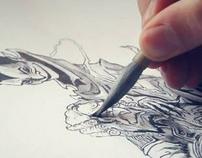 A concept artist