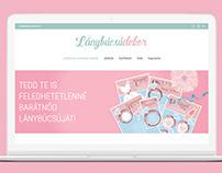 Lánybúcsúdekorweb design + build