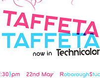 TAFFETA TAFFETA (poster and illust.)