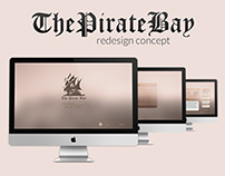ThePirateBay Redesign Concept
