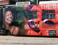 The Body Shop's Street Car Wrap