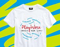 T-shirt prints for PlayWorx