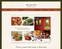 Mangiacake website design
