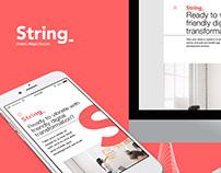 String_ Web-site