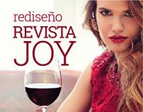 Revista JOY | Rediseño editorial
