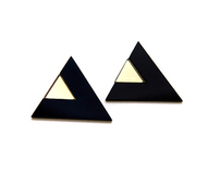 Black Edie Earring