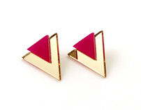 Pink Choice Earring