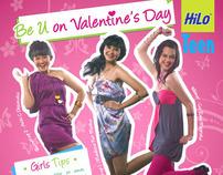 HI-LO TEEN PRINT AD - VALENTINE EDITION