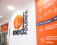 Wayfinding in hospital Medpolonia
