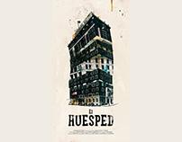 El Huesped. (Afiche)