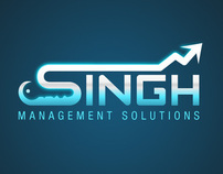 Singh Management Solutions (Logo Design)