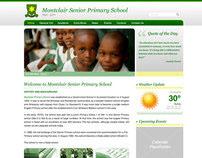 Montclair Senior Primary School (Website Design)