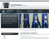 Action Bolt (Pty) Ltd - (Website Design)