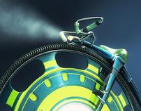 ONO - Retrofuturistic Bike