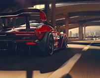 100%CGI McLaren - Senna