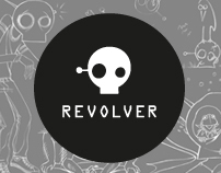 Revoler advertising agency—logo & identity