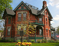 Historic Webster House Bed & Breakfast, Bay City, MI