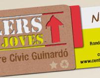 Cartell de tallers del Centre Cívic del Guinardó