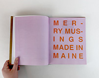 Merry Musings Made In Maine