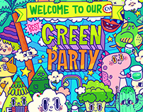 Green party!