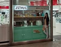 Window Display Amas tu casa 2014 // ATMA