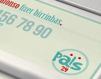 Pais 24h - Conceptual Identity