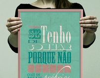 Typography Experiences - Fernando Pessoa
