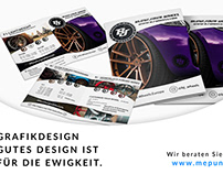 Grafikdesign / Falzflyer BJ Wheels