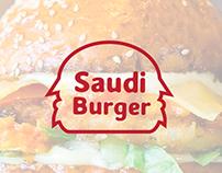 Saudi Burger Logo