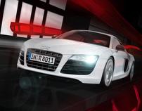 Audi Shanghai Roadshow Concept Design