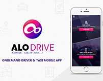 ALO DRIVE - Ondemand Driver & TAXI Mobile App