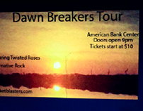 Dawn breakers band poster