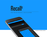 Recallc ~ calculator app
