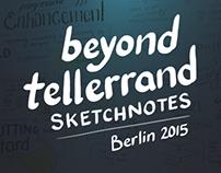 Sketchnotes - Beyond Tellerrand 2015
