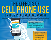 Infographic for effect of constant cellphone usage